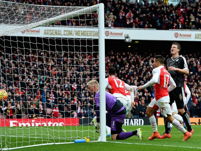 Arsenal tog bare en Sledgehammer til Leicesters Glass slippers