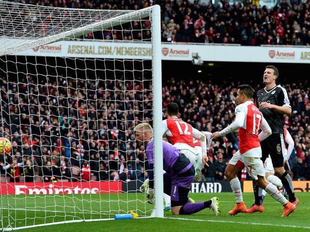 Arsenal Just Took A Sledgehammer Leicesterin lasitossut