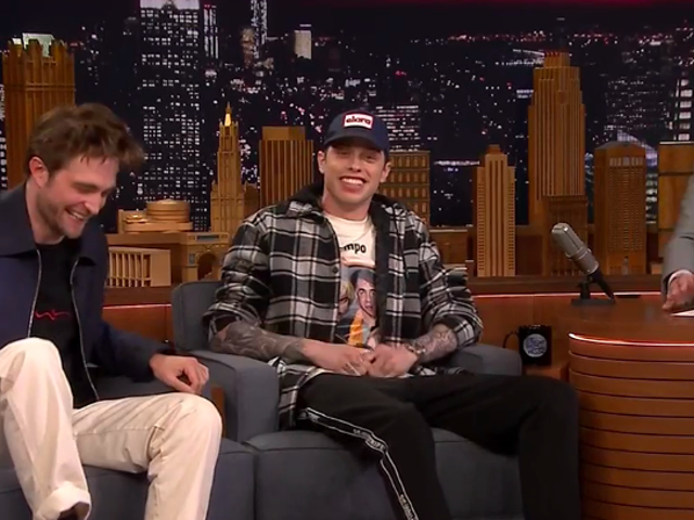 """Lucky motherfucker"" Pete Davidson confirms his engagement and plugs someone else's movie on The Tonight Show"