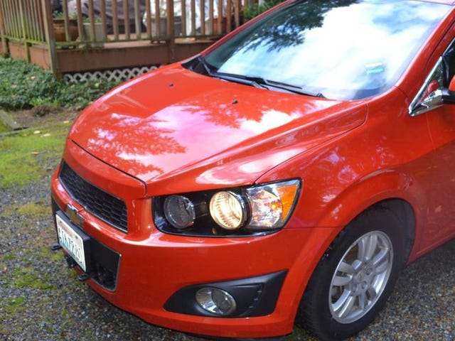 How Does $7,300 for a 2012 Turbo Chevy Sonic Sound?