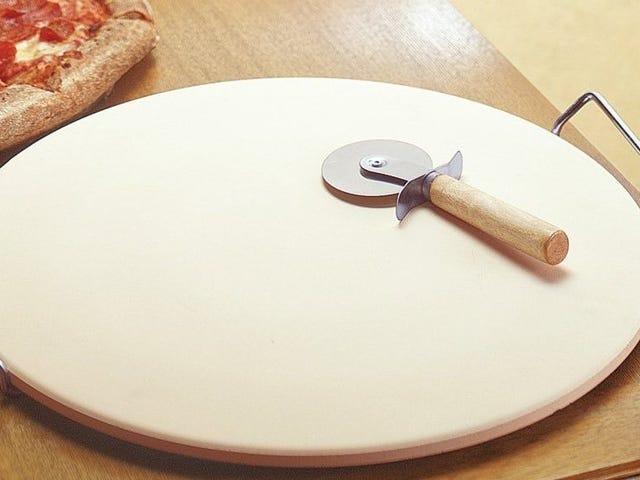 Achieve Crispy Crust Nirvana With This $7 Pizza Stone