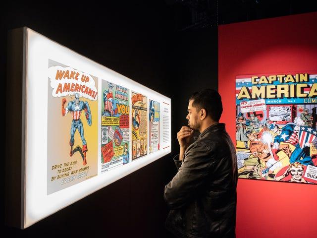 Kunjungan ke pameran museum Marvel baru, di mana film MCU adalah pahlawan sejati