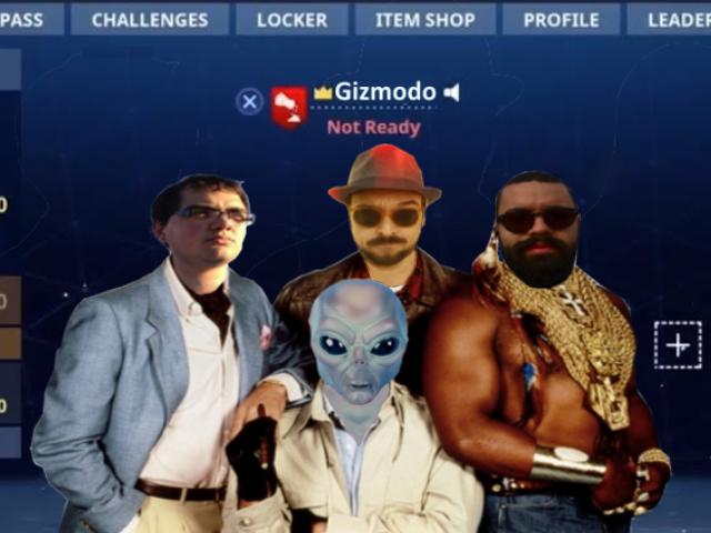 Torneo Fortnite de Gizmodo