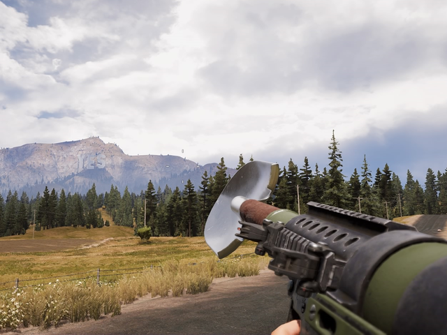 Far Cry 5 Has A Shovel Gun Now, Because Of Course