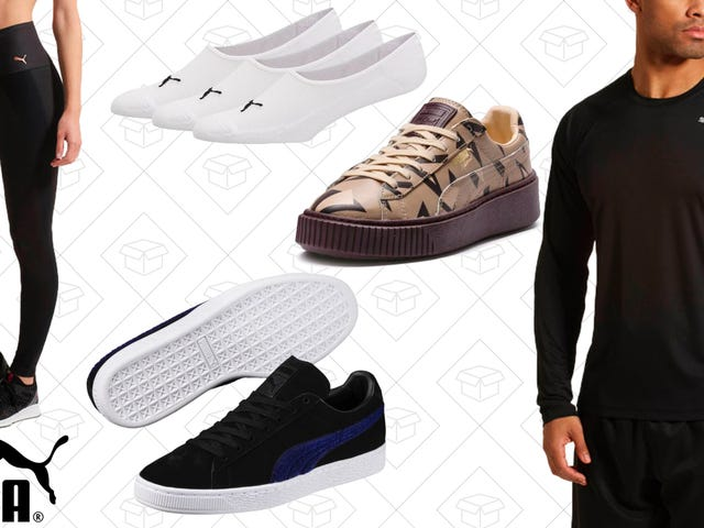 Take an Extra 20% Off PUMA's Sale Section
