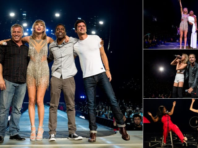 A Definitive Ranking of Taylor Swift's 1989 Tour Guests, From Most to Least Eager