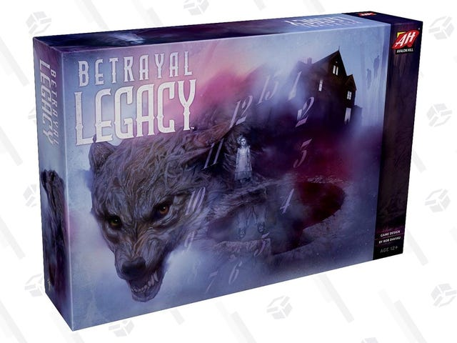 "The Fantastic ""Legacy"" Adaptation of Betrayal At House On The Hill Has Never Been Cheaper"
