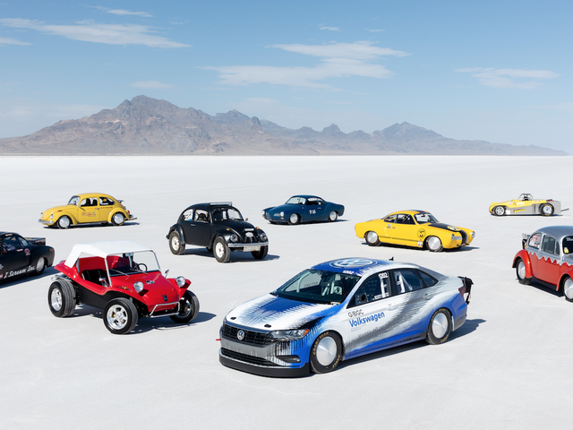 Volkswagen's 600 Horsepower Jetta Set A Very Specific Land Speed Record