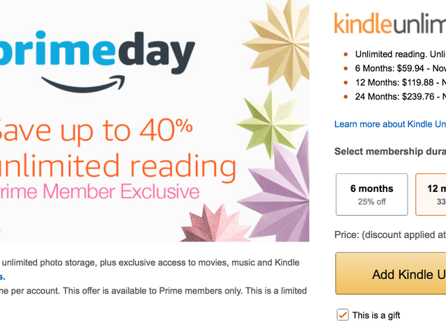If You Haven't Saved On Kindle Unlimited Yet, Now's Your Chance