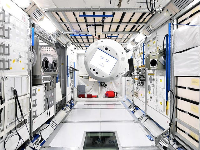The International Space Station's New AI-Powered Bot Is Actually Pretty Cool