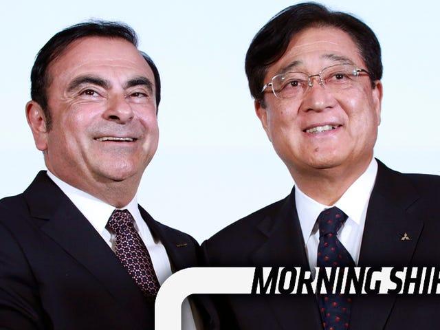 そして今度は三菱はCarlos Ghosnのコスト削減の怒りに直面する