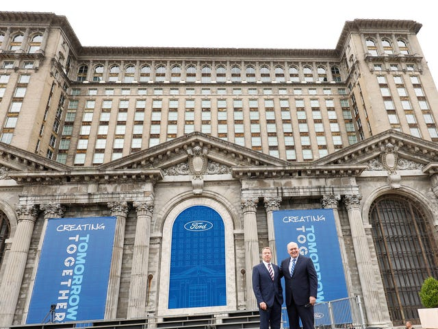 Ford Gets its Money for theMichigan Central Station Revival
