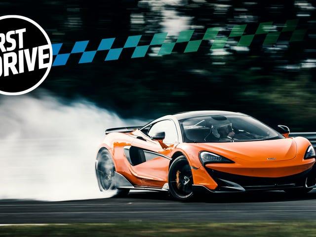 2019 년 McLaren 600LT는 570S의 불타는듯한 미친 최대 버전입니다.