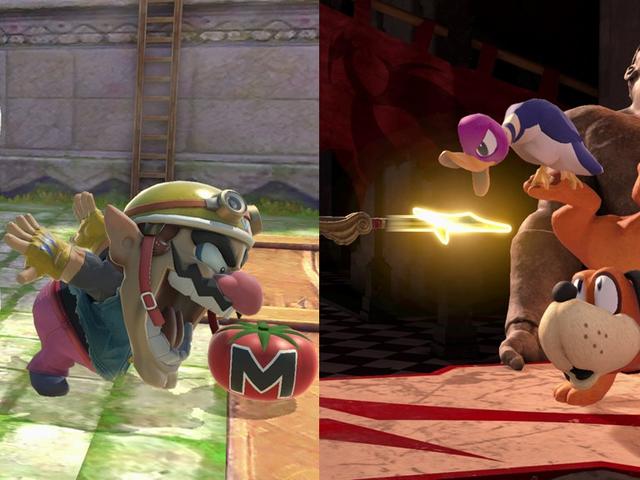 Un chien, un canard et un Wario se lancent dans un tournoi spectaculaire ...