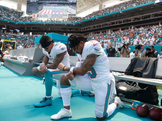 NFL Players Have Stopped Kneeling Because That's What Black America Wants