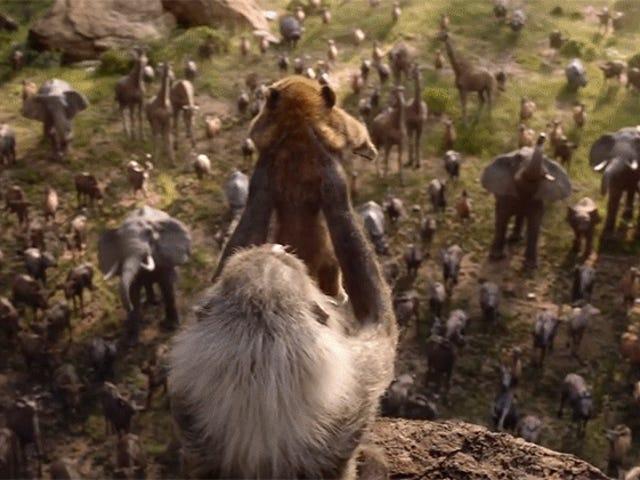 Se den første smukke teaser til Disney&#39;s <i>Lion King</i> Remake