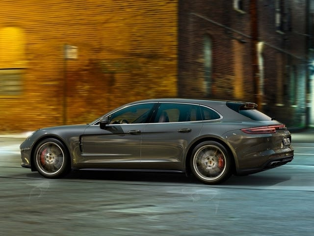An exercise in depreciation, Panamera Sport Turismo Edition