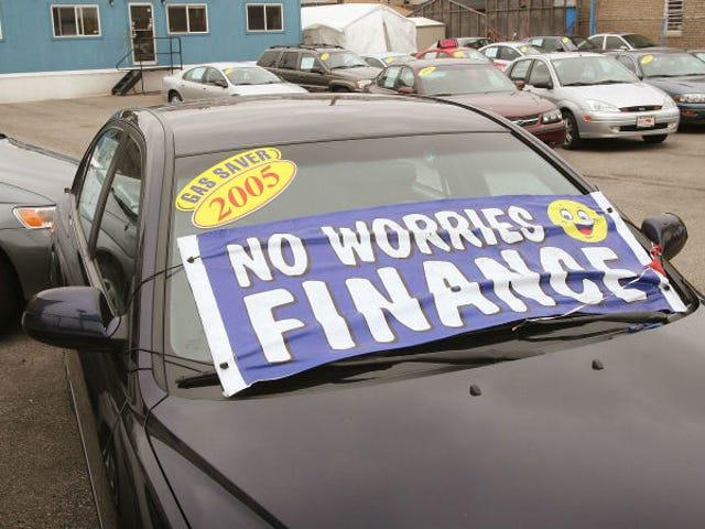 Nabywcy nowych samochodów płacą rekordową średnią 551 USD miesięcznie, ale to nie jest problem