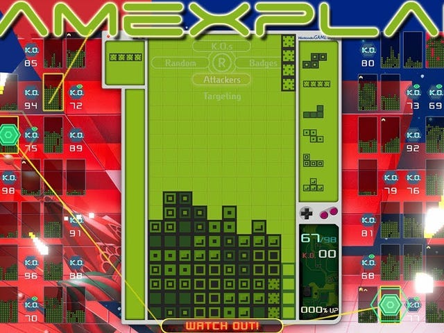 A new Game Boy theme has been added to Tetris 99 as part of its latest competitive event. It takes 100 points to earn it, with a…