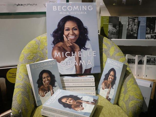 Michelle Obama đã Becoming bán được gần 10 triệu bản sao chết tiệt