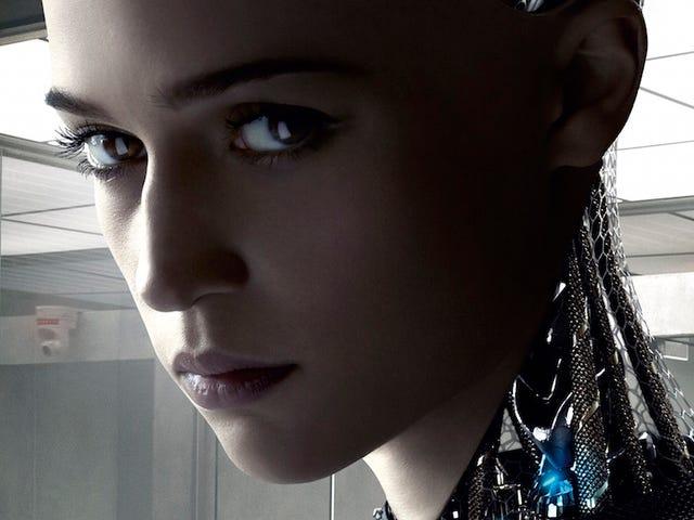 이 영화의 사실적인 인공 지능은 나에게 똥을 두려워했다.