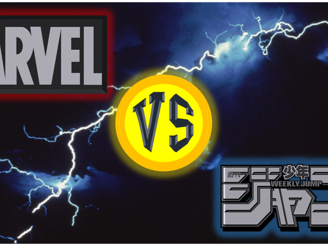 Marvel vs. Shonen Jump: The Ultimate Duke Out!