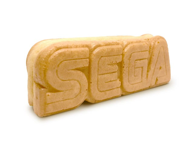 Sega Is Making Edible Logos And Selling Them In Japan