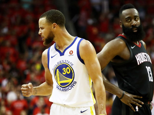 The Warriors Bulldoze Their Way Back To The NBA Finals