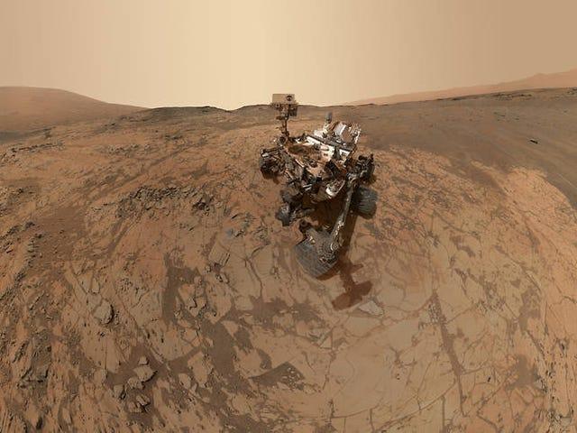 Schauen Sie sich das neue (und coolste) Mars Curiosity Panorama-Selfie an