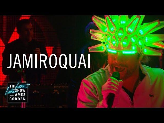 Jamiroquai - Automaton (live on James Corden)