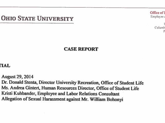 Ohio State Report: Diving Coach Accused Of Sexually Abusing Teen Said It Was Just Flirting