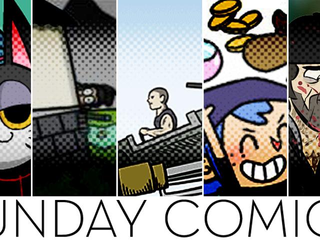 Sunday Comics: MURDERERS!