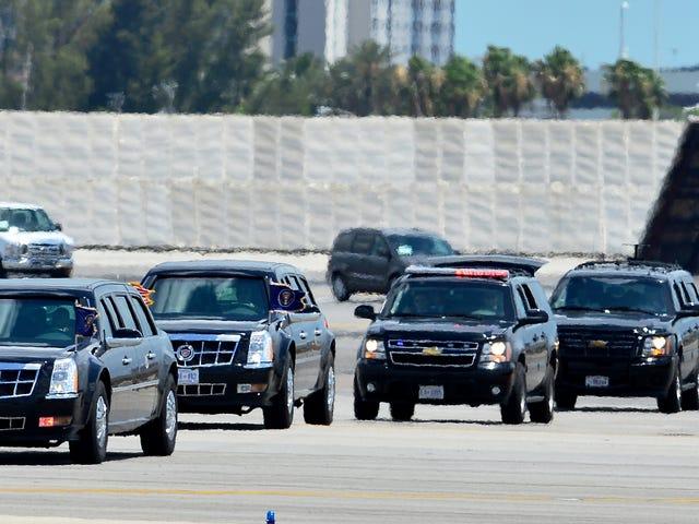 Hvorfor fortsætter vi stadig Præsidentens limousine skal være bil?