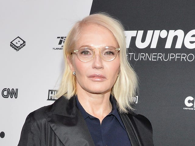 Ellen Barkin Stopped a 'Burglar' From Entering Her Home