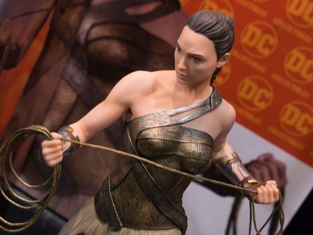Wonder Woman Had A Very Good Toy Fair