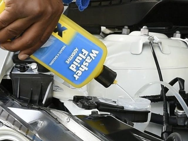 Give Your Existing Windshield Washer Fluid a Rain-X Boost For Just $4
