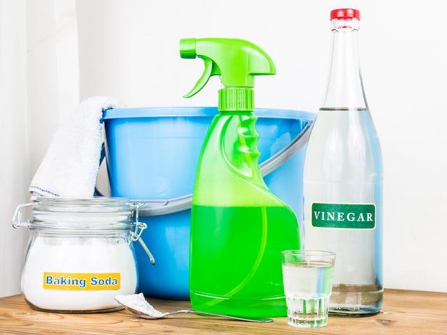 Det säkraste sättet att späda ut hushållskemikalier