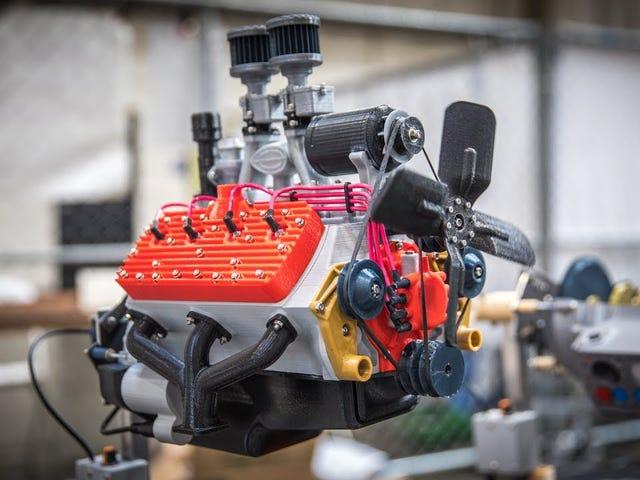 Τρισδιάστατα εκτυπωμένα μοντέλα μηχανών