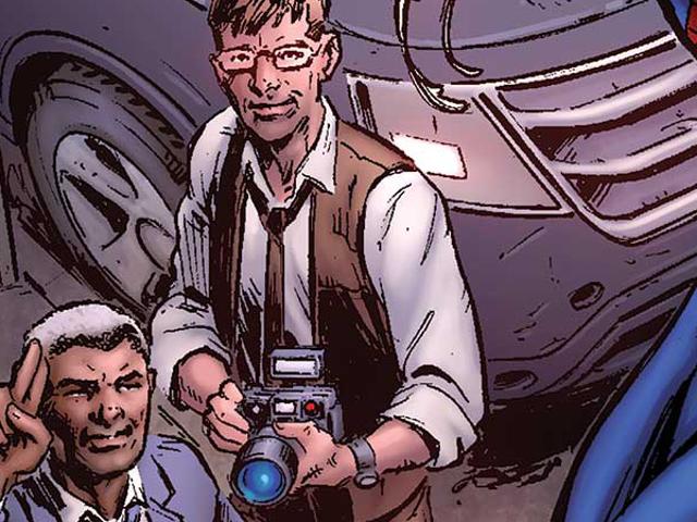 The Daily Bugle adalah di Hunt untuk Scoop Besar dalam Buku Komik yang Sangat Sendiri