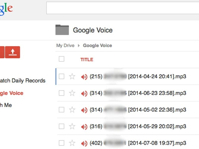 Save Google Voicemails to Your Google Drive with a Script