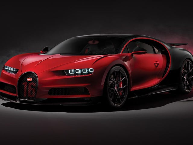 The Bugatti Chiron Sport Saves Weight With Carbon Fiber Windshield Wiper Arms