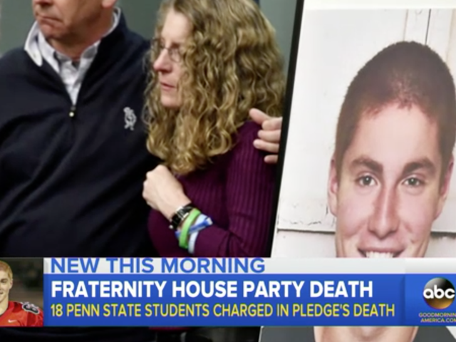 8 Penn State University Fraternity Members Charged With Involuntary Manslaughter in Student Death