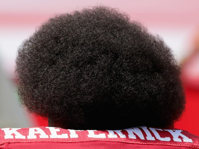 Colin Kaepernick Files Trademark Image of His Face and Glorious Afro