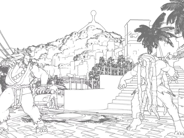 Mod Makes Street Fighter V Look Like Pencil Animation