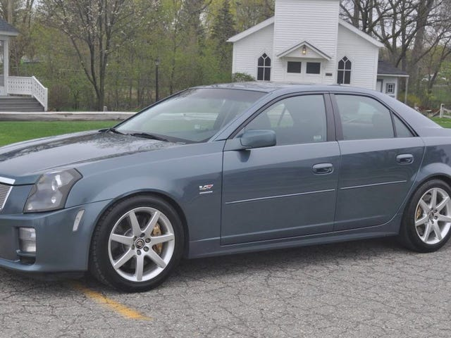 At $19,500, Would You 'Not Go Gentle Into That Good Night' in This 2005 Cadillac CTS-V?