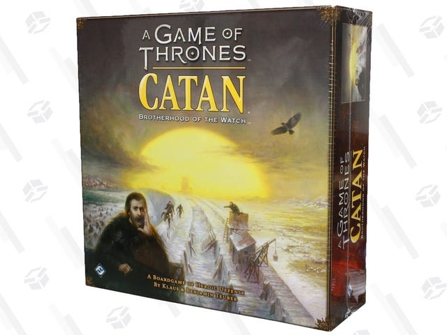 Fire And Blood And Deals: Game of Thrones Catan Is Down To One Of Its Best Prices Ever