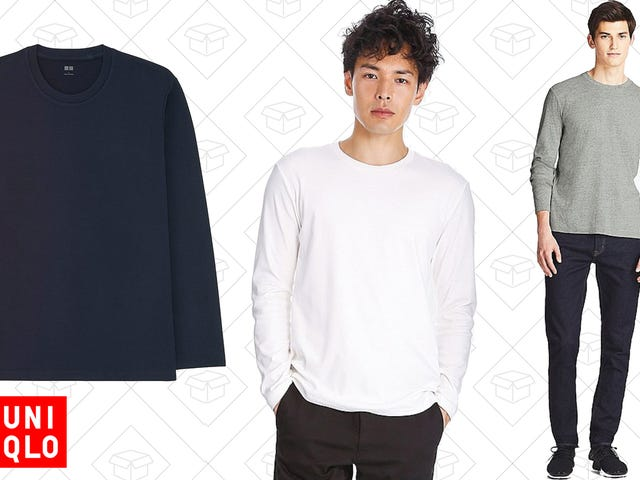 This $6 Uniqlo Long-Sleeve T-Shirt Is Worth Buying In Multiple Colors