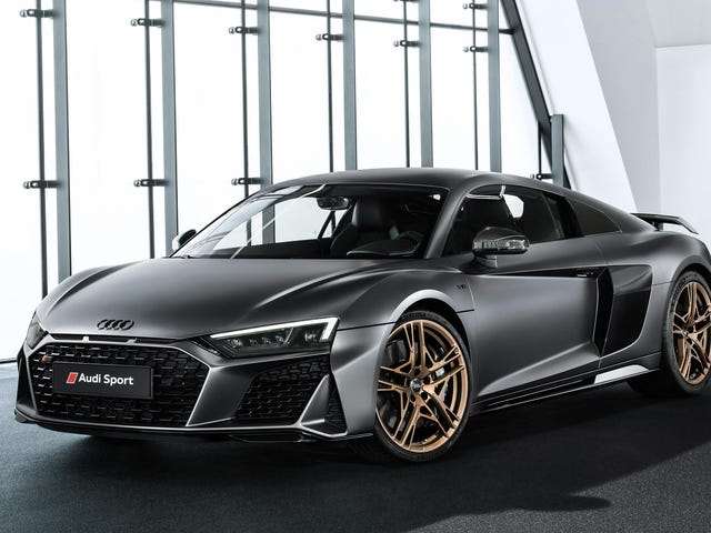 The Special Edition Audi R8 V10 Decennium Costs $214,995 But Offers No Extra Power