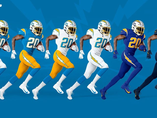 The Chargers Move To L.A. Is Still Pathetic And Stupid, But At Least They'll Look Good
