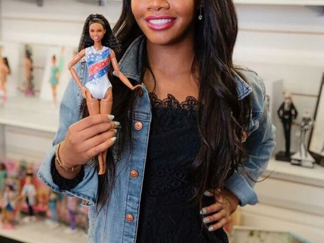 Limited Time Only: Gabrielle Douglas Barbie